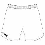 Pantalon basquet blanco Tuga Teams