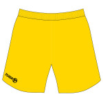 Pantalon basquet amarillo Tuga Teams