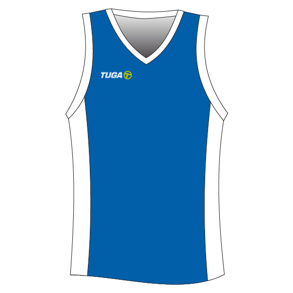 Camiseta basquet cyan Tuga Teams