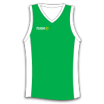 Camiseta basquet verde Tuga Teams