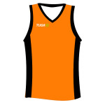 Camiseta basquet naranja Tuga Teams