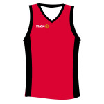Camiseta basquet roja Tuga Teams