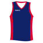 Camiseta basquet azul rojo Tuga Teams