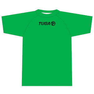 Camiseta basica MC verde Tuga Teams